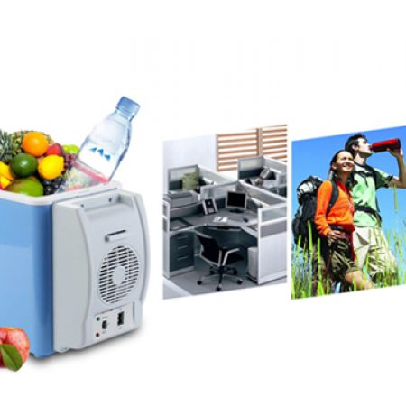 Portable Electronic Car Cooling & Warming Refrigerator 7.5 L