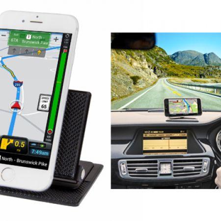 EZ Way GPS Dashboard Phone & GPS Holder Clip Attachment Mount