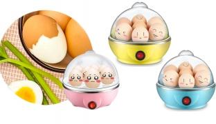 Mini Electric Egg Cooker 350 W - Blue