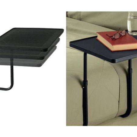 My Bedside Black Folding Table