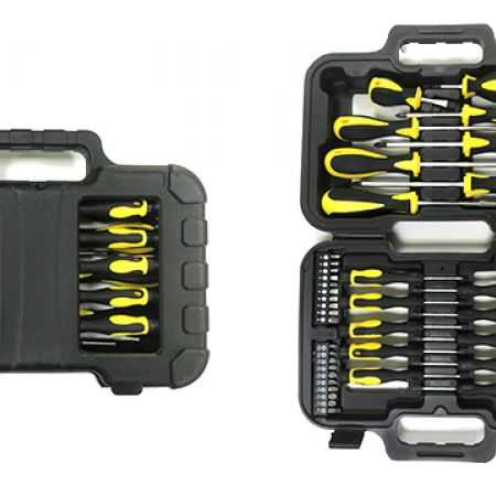 Hand Tool Screwdrivers Set With Case 18 Pcs