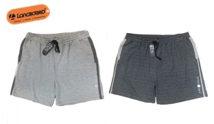 Longboard Just Move Active Combo Short For Men - Grey - Size: XXL