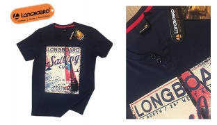Longboard Sailing Cup Festival Navy Blue T-Shirt For Men - Size: Small