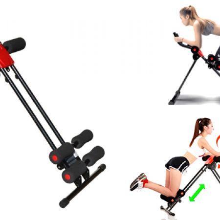 Vertical Power Plank Cruncher Six Pack Trainer