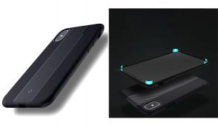 Totu Design Carbon Fiber Back Phone Cover - For iPhone 7