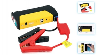Rechargeable Multifunction Power Bank For Car Jump Start 16800 mAh With Tire Inflate Device