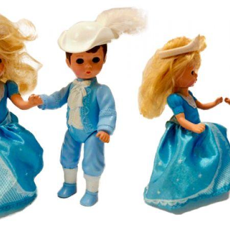 Set Of Cinderella & Prince Charming Figurine 12 cm 2 Pcs