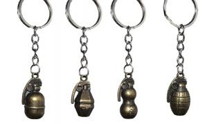 Bomb Metal Keychain Set Of 12 Different Models