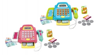Kids Cash Register Set - Blue