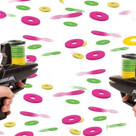 Set Of Foam Disc Shooters 2 Pcs