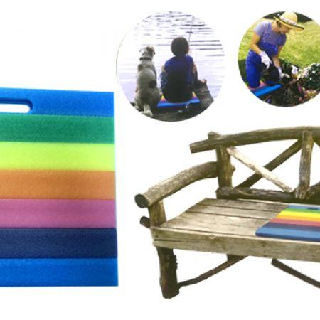Multipurpose Rainbow Floating Foam Mat 35 x 30 x 3 cm