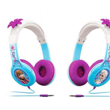 iHome Kiddesigns Frozen Over-Ear Headphone Volume Limited With 3 Settings