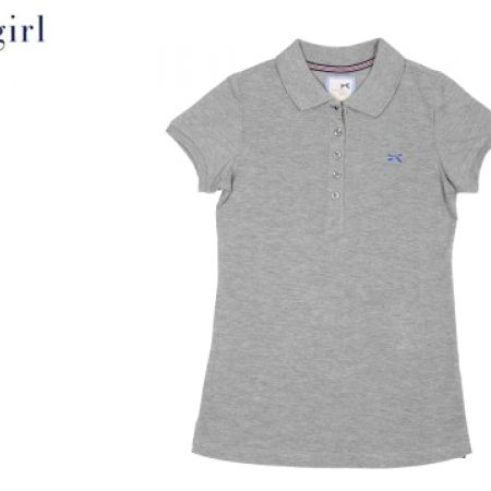 9e5940587 Tommy Girl By Tommy Hilfiger Grey Polo Shirt For Women Size  Medium.    28.00  35.00