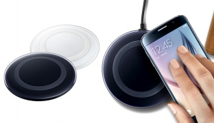 Wireless Charging Pad For Samsung - Black Sapphire