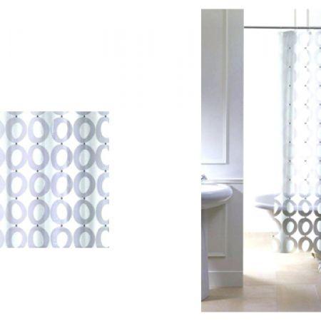 Primanova PVC Stylish Elegant Shower Curtain 120 X 200 Cm