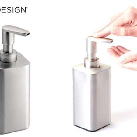 Interdesign Gia Brushed Stainless Steel Soap Pump 1905 X 635 X