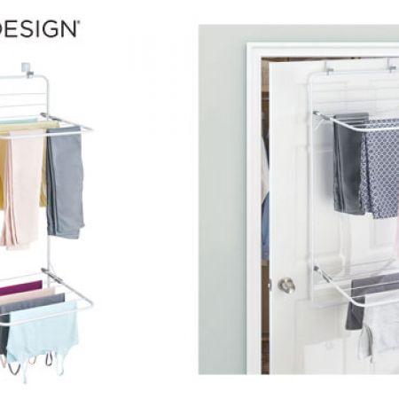 Interdesign Brezio Over Door Laundry Drying Rack Makhsoom