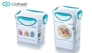 ClipFresh Blue Classic Series Rectangular Tall Food Storage - 0.98 L