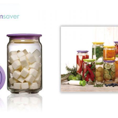 Vacuumsaver Colopot Airtight Glass Jar 0.75 L