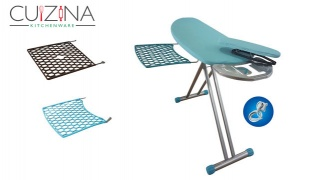 Cuizina Ironing Board With Aem Rest 130-45 cm - D1 Blue