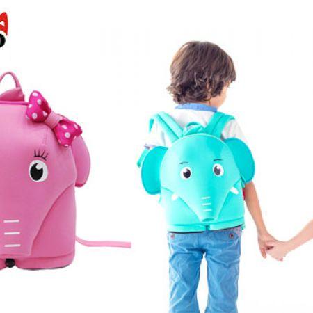 3d2ec294be60 ... Elephant Neoprene Preschool Backpack For Kids 23 x 22 x 11.5 cm. expired
