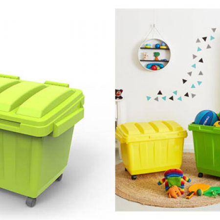 Ezy Green Multipurpose Kids Dumpster 68 x 47 x 50.5 cm