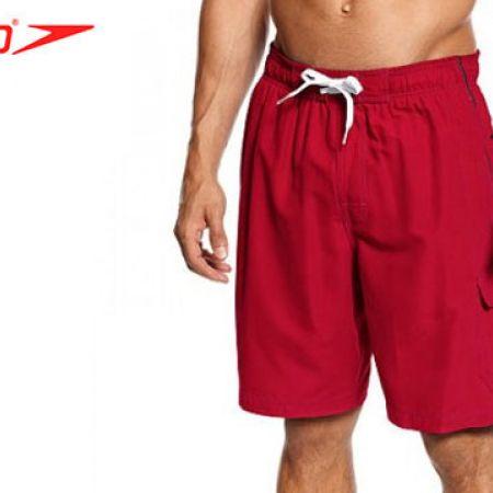 Speedo Red Marina Swim Trunks Swimwear For Men Size: Medium