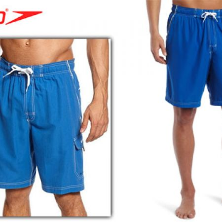 Speedo Blue Marina Swim Trunks Swimwear For Men Size: Medium