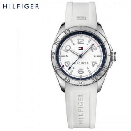 Tommy Hilfiger White Round Watch For Women
