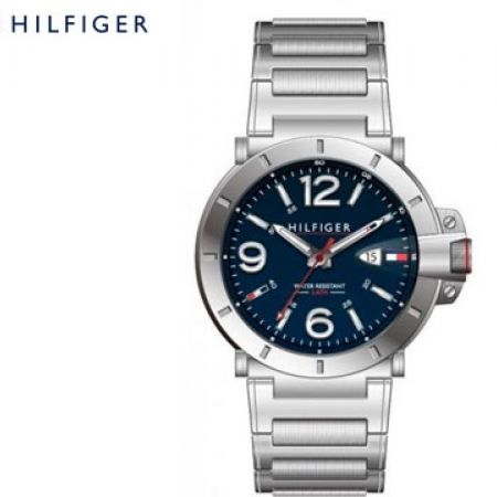 Tommy Hilfiger Classic Fusion Blue Round Watch For Men