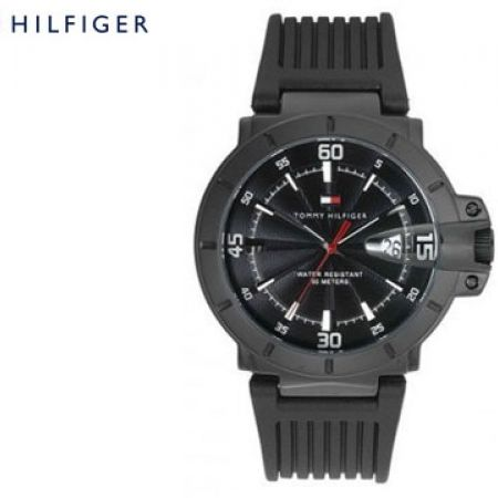 Tommy Hilfiger Classic Fusion Black Round Watch For Men