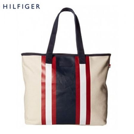 8010efdda Tommy Hilfiger Stripes Tote Canvas For Women - Makhsoom