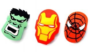 Super Hero Rubber - Iron Man