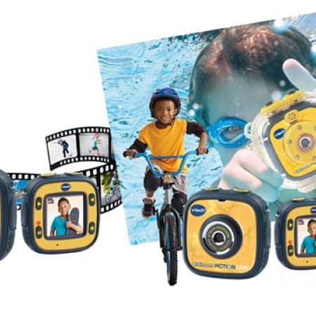 Vtech Baby Kidizoom Digital Action Camera - French