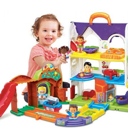 Vtech Baby Toot-Toot Friends Busy Sounds Discovery House ...