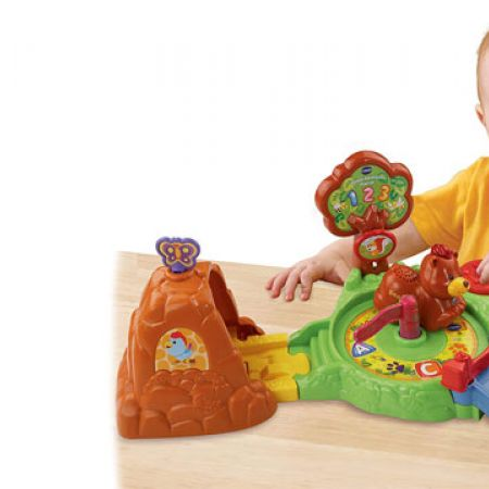 Vtech Go! Go! Smart Animals Forest Adventure Playset - French