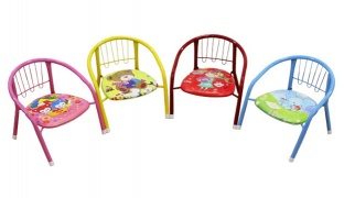 Cute Kids Chair With Whistle Sound 60 x 50 x 37.5 cm - Blue