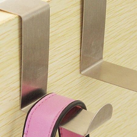 Set Of 2 Pcs Stainless Steel Hook Z Shape