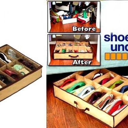 Shoes Under Space Saver Shoe Organizer
