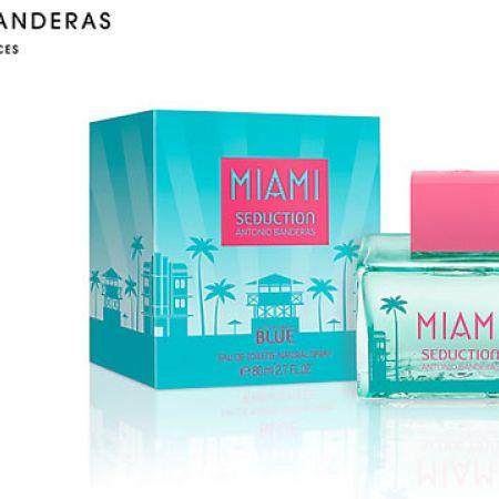Antonio Banderas Miami Seduction Blue Eau De Toilette For Women 80 ml