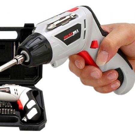 Joust Max 24802 Cordless Electric Drill Screwdriver Set 45 Pcs