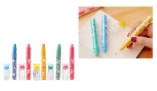 Replaceable Eraser Pen Cap - Blue