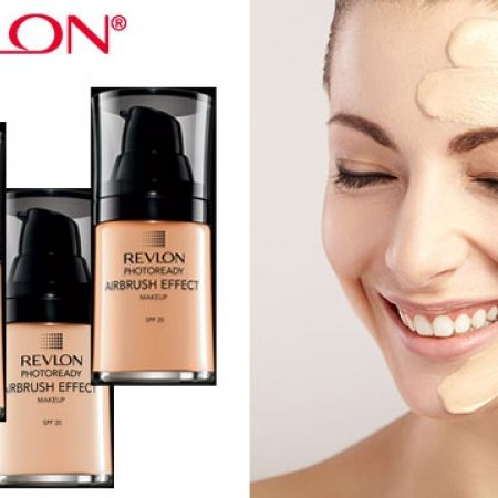 Revlon PhotoReady Airbrush Effect Makeup Foundation - 001 Ivory - Makhsoom