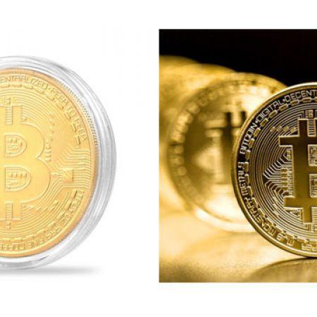 Bitcoin Physical Collectible Coin