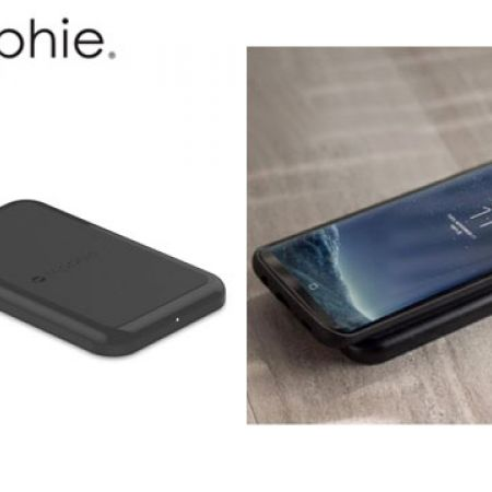 Mophie Black Wireless Charge Force Charging Base Qi 5W For iPhone