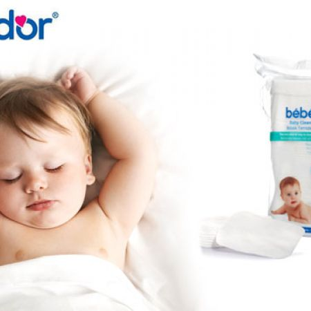 Bebedor Baby Cleaning Cotton 60 Pcs
