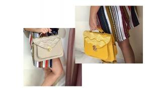 Vintage Style Bag For Women - Beige