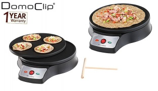 Domoclip 2 In 1 Mini Crepe Maker 1000 W 26 x 6 cm DOC143
