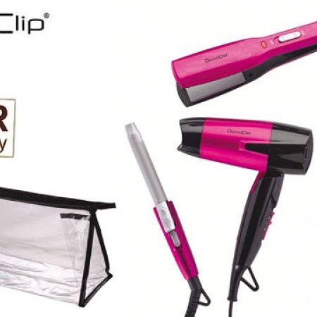 be2ef1af9c95d Domoclip Travel Hairstyle Set 4 Pcs DOS132
