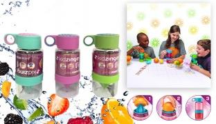 Kid Zinger Juice Maker Water Bottle 473 ml - Turquoise